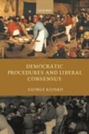 Book Democratic Procedures and Liberal Consensus by George Klosko