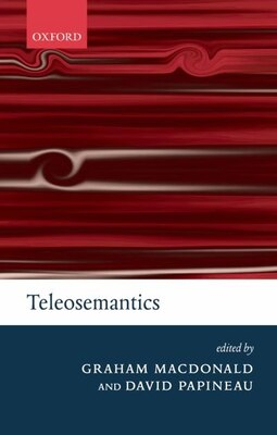 Book Teleosemantics by Graham Macdonald