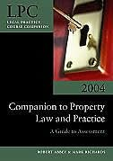 Companion to Property Law and Practice: A Guide to Assessment