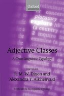 Book Adjective Classes: A Cross-Linguistic Typology by R.M.W. Dixon