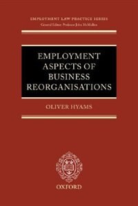 Book Employment Aspects Of Business Reorganisations by Oliver Hyams