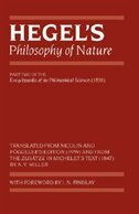Book Hegels Philosophy of Nature: Encyclopedia of the Philosophical Sciences (1830), Part II by A. V. Miller