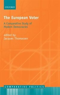 Book The European Voter: A Comparative Study of Modern Democracies by Jacques Thomassen