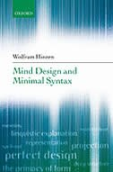 Mind Design And Minimal Syntax