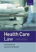 Book Health Care Law by Jonathan Montgomery