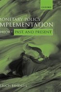 Book Monetary Policy Implementation: Theory, past, and present by Ulrich Bindseil