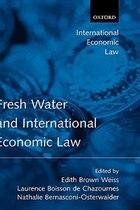 Fresh Water And International Economic Law