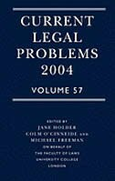 Book Current Legal Problems 2004 Volume 57 by Jane Holder