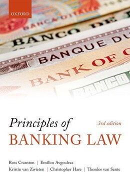 Book Principles Of Banking Law by Ross Cranston