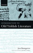 Introduction to Old Yiddish Literature