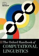 Book The Oxford Handbook of Computational Linguistics by Ruslan Mitkov