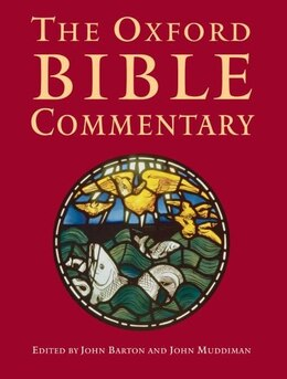 Book The Oxford Bible Commentary by John Barton
