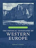 Book The Physical Geography of Western Europe by Eduard A. Koster