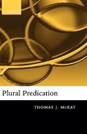 Book Plural Predication by Thomas McKay