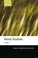 Book Moral Realism: A Defence by Russ Shafer-Landau