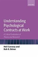 Book Understanding Psychological Contracts at Work: A Critical Evaluation of Theory and Research by Neil Conway
