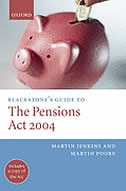 Book Blackstones Guide to the Pensions Act 2004 by Martin Jenkins