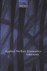 Book Applied Welfare Economics by Chris Jones