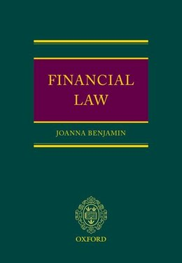 Book Financial Law by Joanna Benjamin