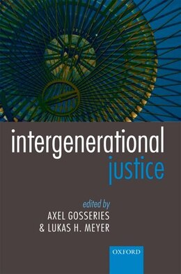Book Intergenerational Justice by Axel Gosseries