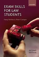 Book Exam Skills For Law Students by Harry McVea