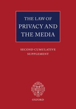 Book The Law Of Privacy And The Media: Main Work And Second Cumulative Supplement by Michael Tugendhat