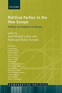 Book Political Parties in the New Europe: Political and Analytical Challenges by Kurt Richard Luther