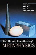 Book The Oxford Handbook Of Metaphysics by Michael J. Loux