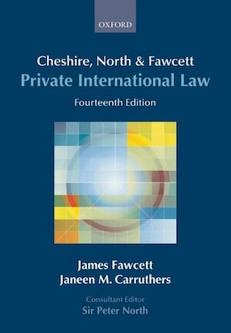 Book Cheshire, North and Fawcett: Private International Law by James Fawcett
