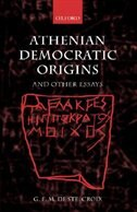 Book Athenian Democratic Origins: and Other Essays by G. E. M. de Ste. Croix