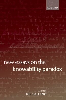 Book New Essays on the Knowability Paradox by Joe Salerno