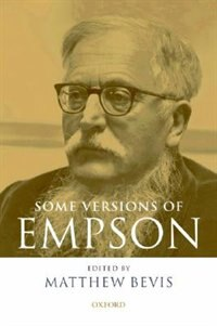 Book Some Versions of Empson by Matthew Bevis