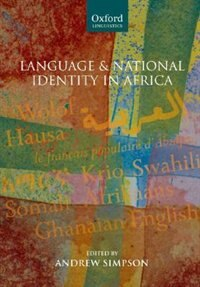 Book Language And National Identity In Africa by Andrew Simpson