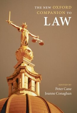 Book The New Oxford Companion to Law by Peter Cane