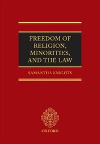 Book Freedom Of Religion, Minorities, And The Law by Samantha Knights