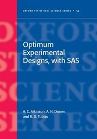 Book Optimum Experimental Designs, with SAS by Anthony Atkinson