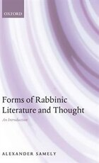 Forms of Rabbinic Literature and Thought: An Introduction