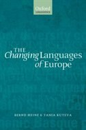 Book The Changing Languages Of Europe by Bernd Heine