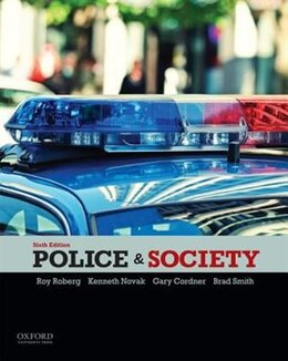 Book Police and Society by Roy Roberg
