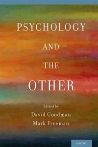 Book Psychology and the Other by David Goodman
