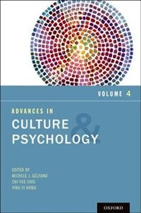 Book Advances in Culture and Psychology, Volume 4 by Michele J. Gelfand