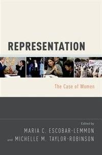 Book Representation: The Case of Women by Maria C. Escobar-Lemmon