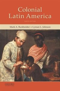 Book Colonial Latin America by Mark A. Burkholder