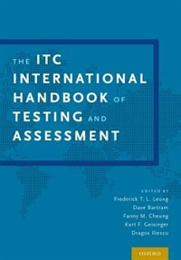 Book The ITC International Handbook of Testing and Assessment by Frederick T. L. Leong