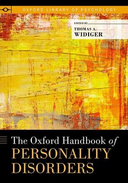 Book The Oxford Handbook of Personality Disorders by Thomas A. Widiger