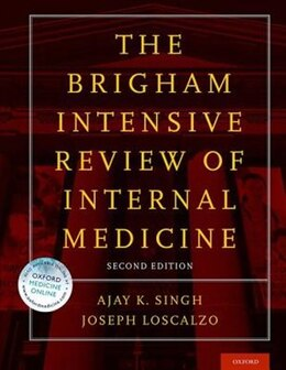 Book Brigham Intensive Review of Internal Medicine by Ajay K. Singh