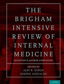 Book The Brigham Intensive Review of Internal Medicine Question and Answer Companion by Ajay K. Singh