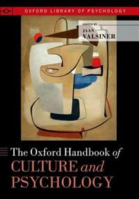 Book The Oxford Handbook of Culture and Psychology by Jaan Valsiner