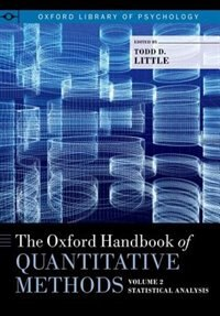 Book The Oxford Handbook of Quantitative Methods in Psychology, Volume 2 by Todd Little