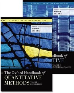 Book The Oxford Handbook of Quantitative Methods, Two-Volume Set by Todd Little